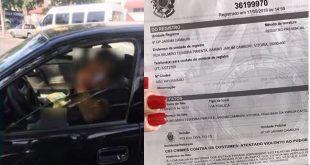 Mãe de aluno flagra policial se masturbando dentro de carro em frente à escola no ES. Vídeo