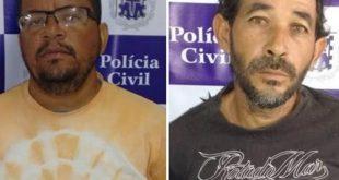 Dois homens são presos acusados de estuprarem neta e filha na Bahia