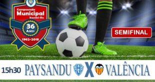 Municipal 2018: Paysandu e Valência decidem neste domingo a segunda vaga da grande final