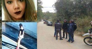 Tristeza: Corpo da menina Vitória Gabrielly é encontrado ao lado de patins