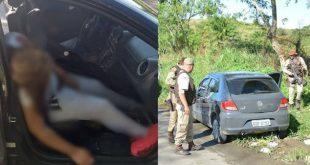 Casal é encontrado morto com sinais de execução, na BR-101, próximo a Itabuna