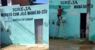 """Após polêmica, Igreja """"Mocotó com Jiló Maná do Céu"""", em Ilhéus muda de nome"""