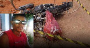 Inconformado com separação, homem queima casa e se mata ao se jogar com moto na frente de caminhão