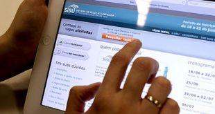 Inscrições do Sisu começam amanhã; serão oferecidas mais de 57 mil vagas