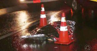 Sinistro: Homem é atropelado, foge de hospital e morre após ser novamente atropelado