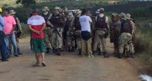 Após expulsar funcionários de fazenda invadida, supostos índios são detidos pela polícia por furto de animal
