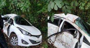 Mulher morre e policial fica ferido em acidente na rodovia Ilhéus-Itabuna