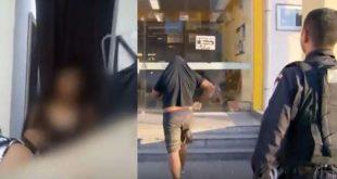 Absurdo: Vendedor é preso em flagrante por filmar clientes trocando de roupa. VÍDEO