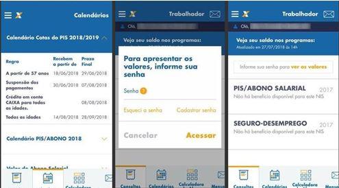 """Para saber se tem direito de receber o PIS Pasep usando o celular, é  necessário apenas baixar o aplicativo """"Caixa Trabalhador"""", compatível com  os sistemas ... 01f96cb54b"""